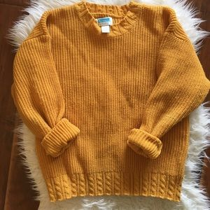 Vintage Goldenrod Sweater
